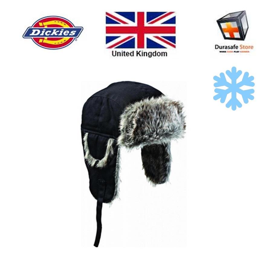 b290d27ab Dickies HA8001 Winter Trapper Hat Black