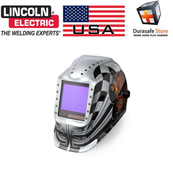 Lincoln Welding Helmet 3350 >> Lincoln Electric K3100 1 Viking 3350 Auto Darkening Welding Helmet Shade 6 13