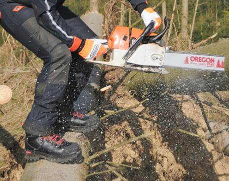 OREGON Waipoua 295420 Type A Front Protection Chainsaw Trousers, UK