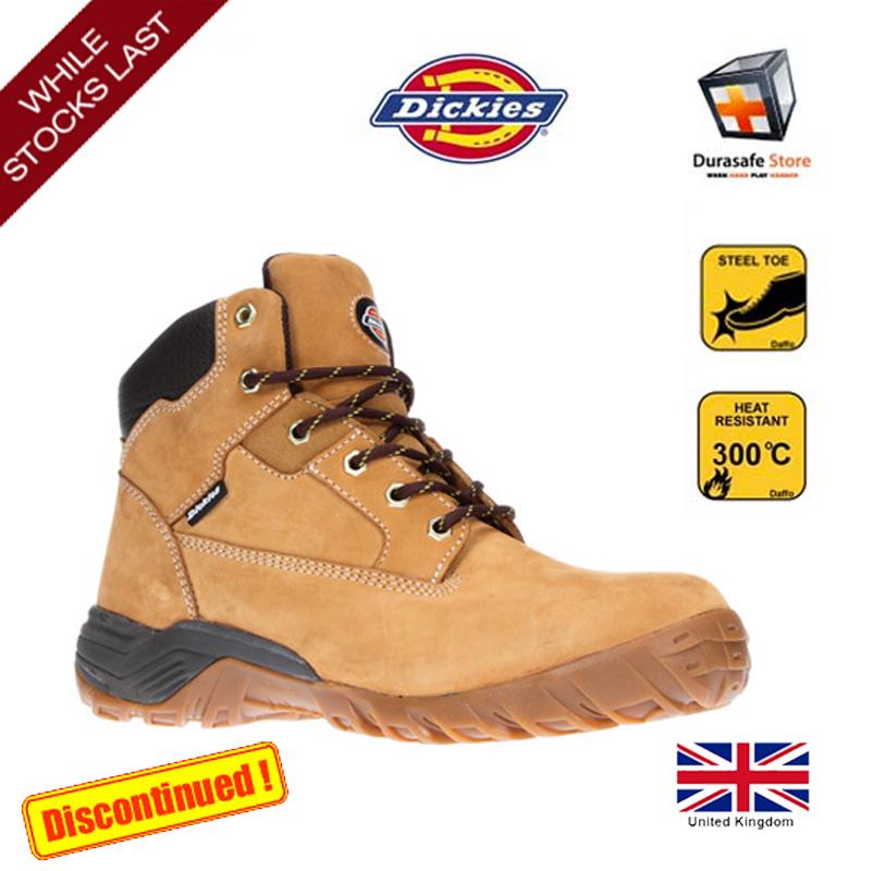 4d6cfdd663e Dickies FD9207 Graton Safety Boots Honey