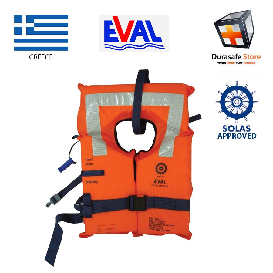 Eval Lifejacket Donning Instructions