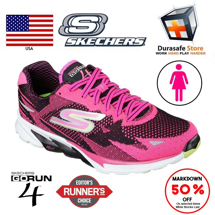 SKECHERS 13996 GO Run 4 Women Shoes