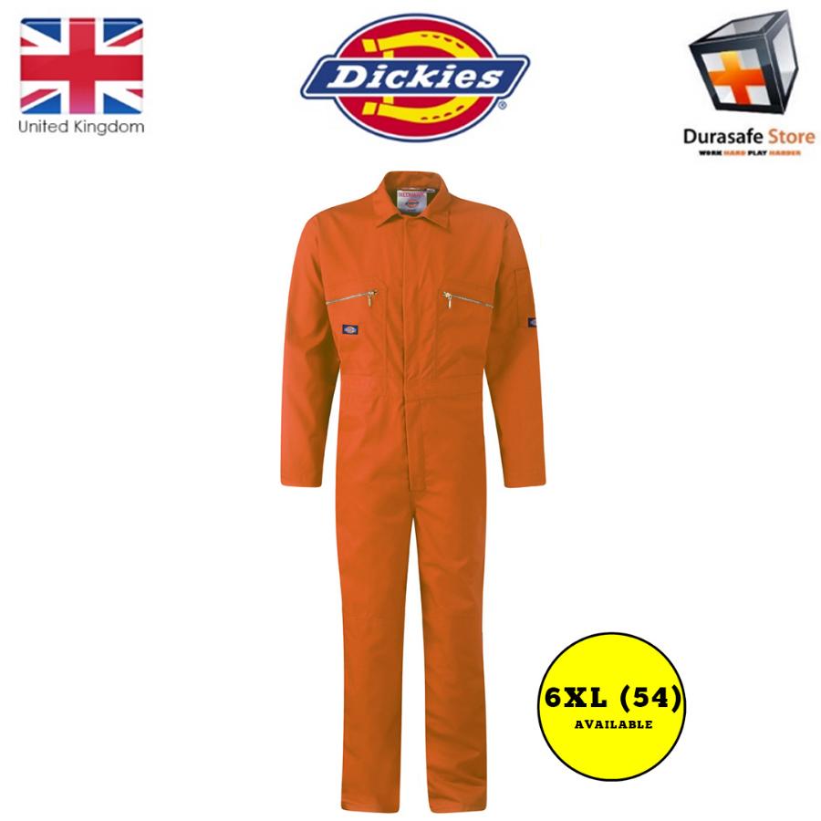 Size: 40 x 30 regular Dickies Redhawk WD4839 Color: white Boilersuit