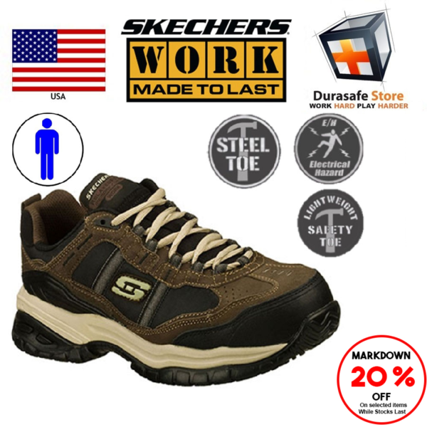 skechers safety toe shoes