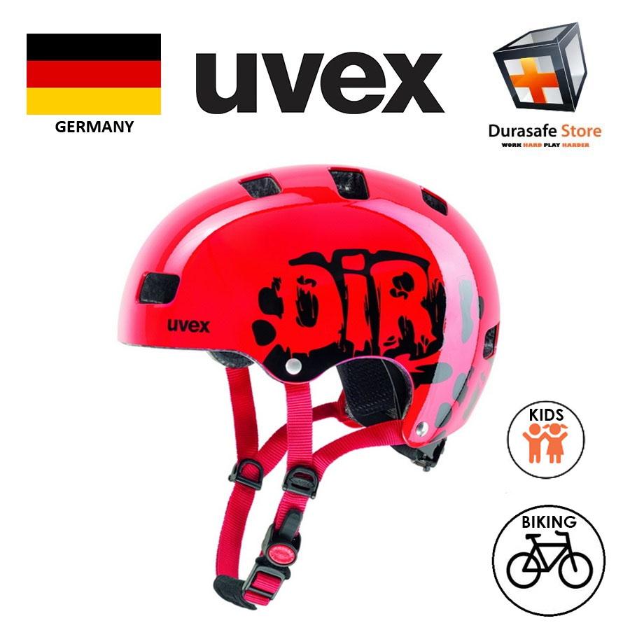 Uvex Kid 3 Helmet Size 51-55cm Blue Yellow