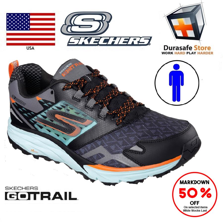 SKECHERS 54112 Men's Go Trail Shoes