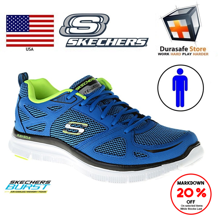 At The Sales Skechers Flex Advantage First Team 51460 Low
