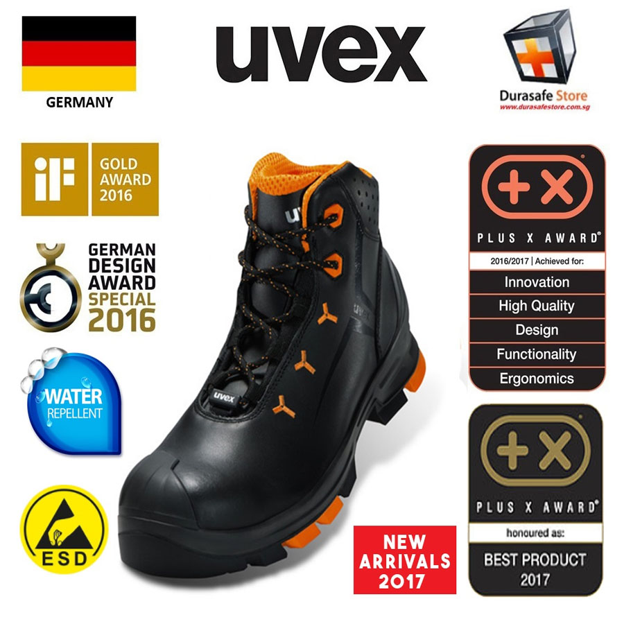 0a2f39dbb0a UVEX 6503 Uvex 2 Lightweight Lace-up Safety Boot Size 39-46