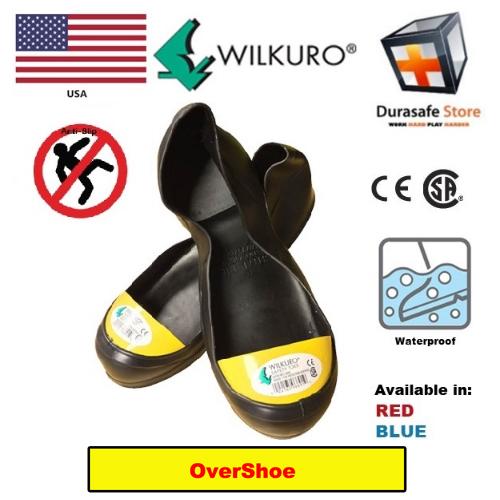 6b9831d2984 Wilkuro Steel Toe Safety Overshoes