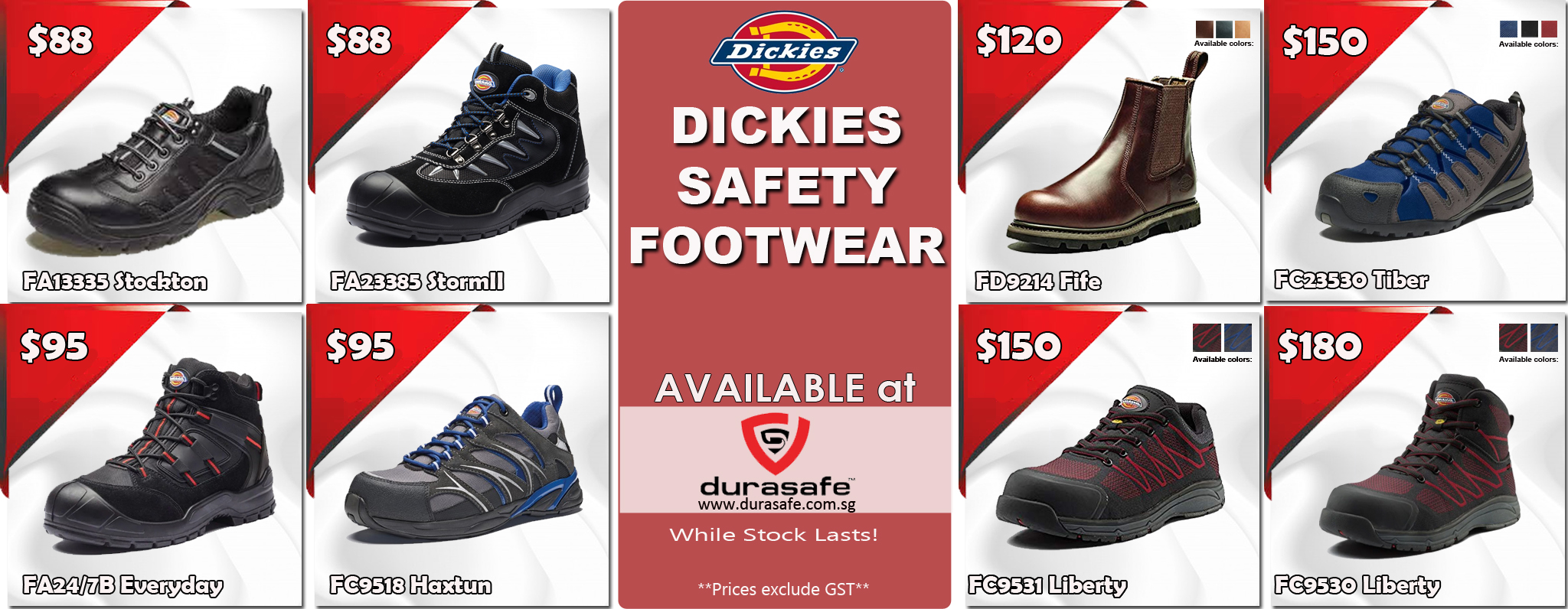 Dickies Footwear Banner